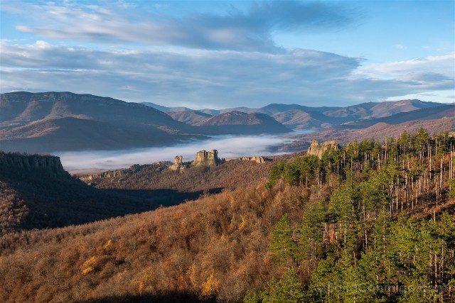 Rocas de Belogradchik Bulgaria Paisaje