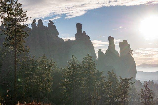 Rocas de Belogradchik Bulgaria Torres