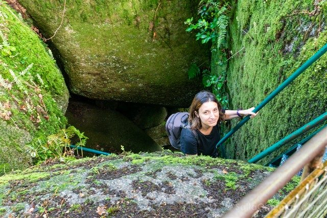 Bosque de Huelgoat Cueva Diablo Sara