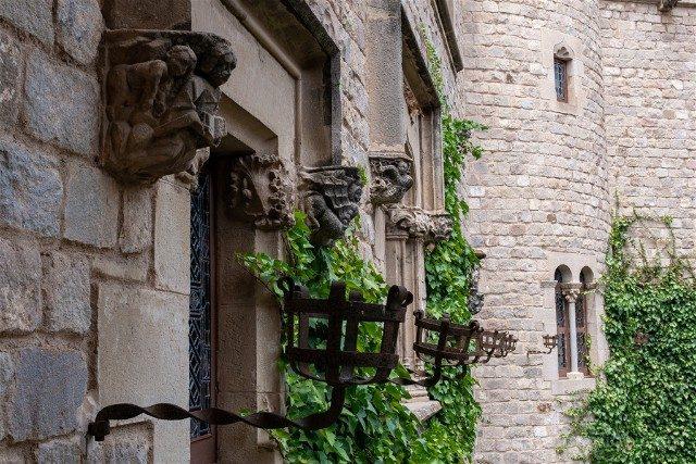 Castillo de Santa Florentina Fachada Patio