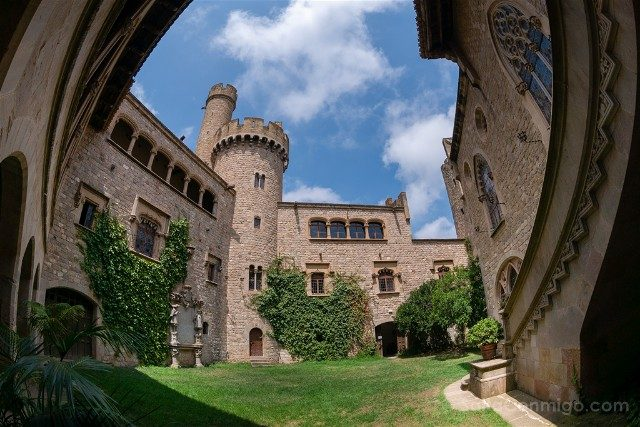 Castillo de Santa Florentina Patio Ojo Pez