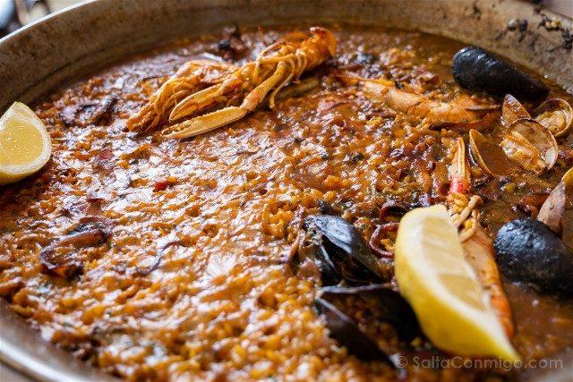Comer Canet de Mar Restaurante Santuario Arroz
