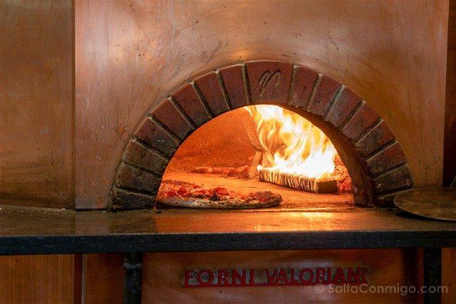 Donde Comer en Roma Antica Pizzeria Da Michele Horno