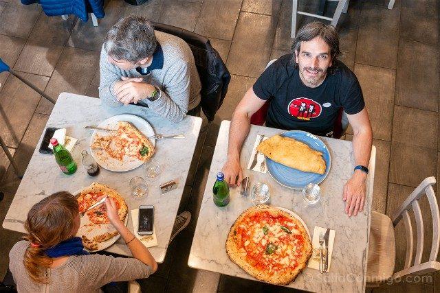 Donde Comer en Roma Antica Pizzeria Da Michele
