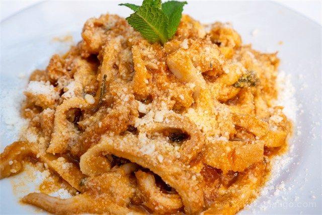 Donde Comer en Roma Da Gino Al Parlamento Trippa Romana