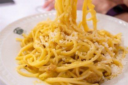 Donde Comer en Roma Giggetto Carbonara