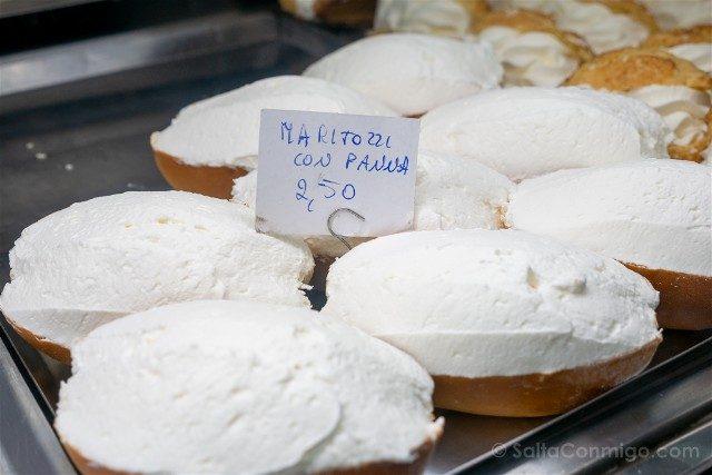 Donde Comer en Roma Pasticceria Regoli Maritozzi