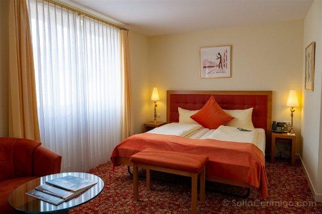 Dormir en Basilea Gaia Hotel Habitacion