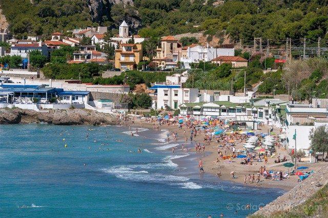 Garraf Mirador Playa Les Casetes