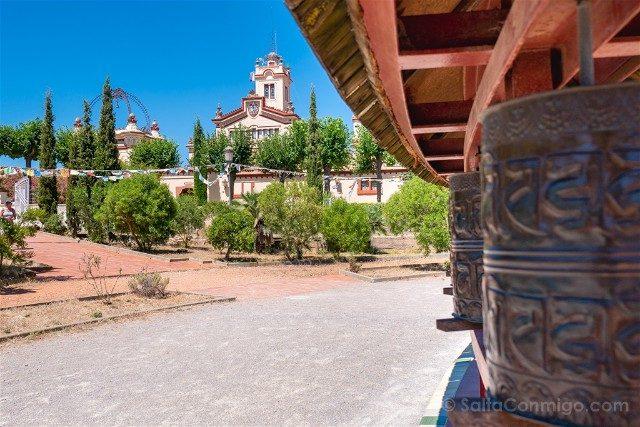 Garraf Monasterio Budista Cilindros Oracion