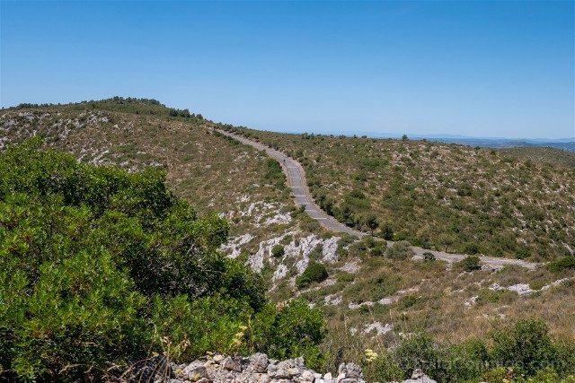 Garraf Parque Natural Carretera