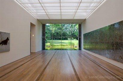 Museos de Basilea Fondation Beyeler Sala Interior Ventana