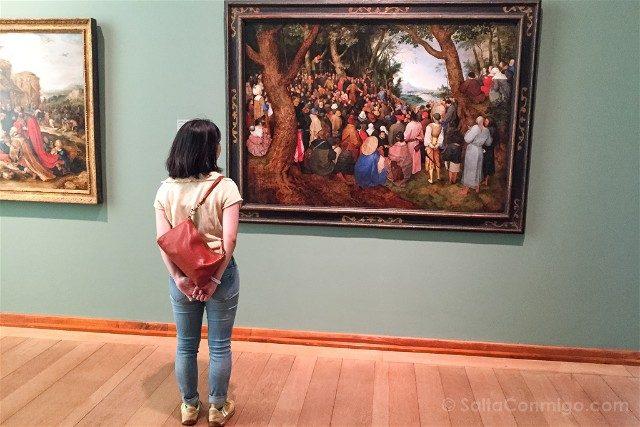 Museos de Basilea Kunstmuseum Basel Hauptbau Brueghel