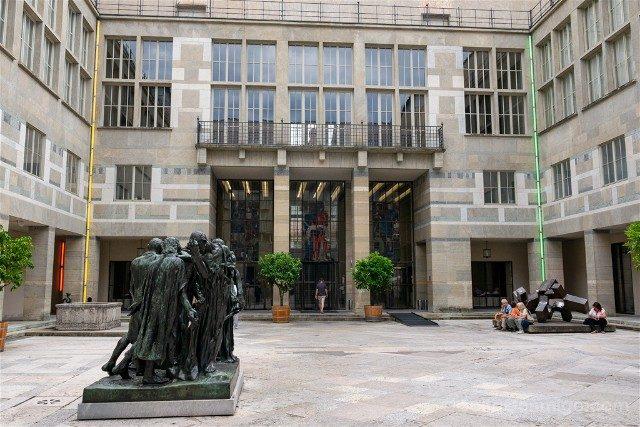 Museos de Basilea Kunstmuseum Basel Hauptbau Entrada