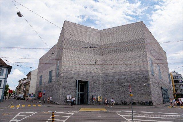 Museos de Basilea Kunstmuseum Basel Neubau Exterior