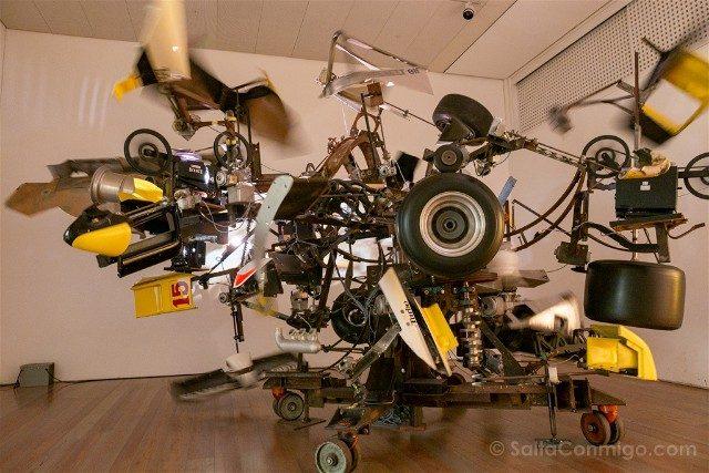 Museos de Basilea Museo Tinguely Formula1