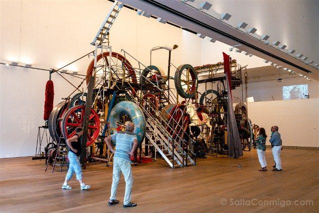 Museos de Basilea Museo Tinguely Gigante