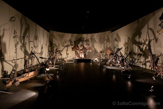 Museos de Basilea Museo Tinguely Organicas