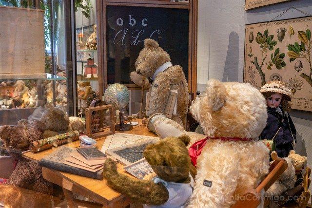 Museos de Basilea Spielzeug Welten Museum Basel Juguetes Osos Escuela