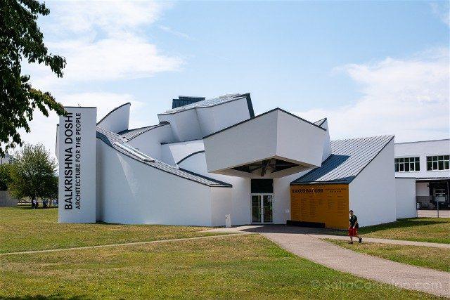 Museos de Basilea Vitra Design Museum Edificio Balkrishna Doshi