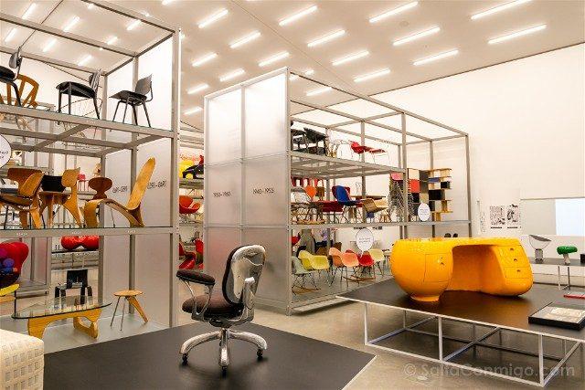 Museos de Basilea Vitra Design Museum Interior Schaudepot