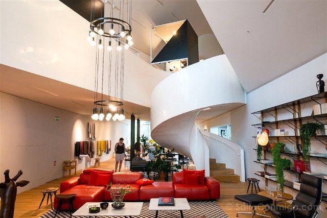 Museos de Basilea Vitra Design Museum Interior Tienda