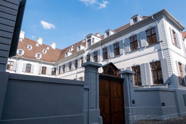 Que Ver en Basilea Casco Historico Casa Blanca