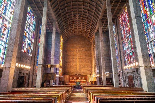 Que Ver en Basilea Iglesia St Anton Colores Interior Completo