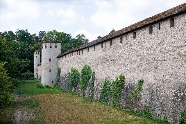 Que Ver en Basilea St Alban Muralla