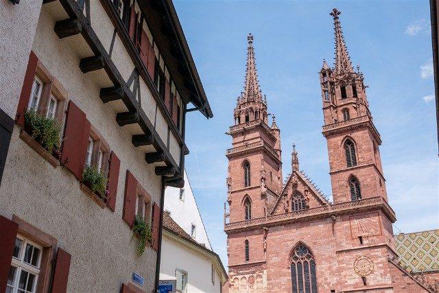 Que Ver en Basilea Torres Catedral