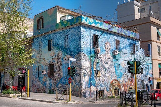 Que Ver en Roma Grafiti Street Art Torpignattara