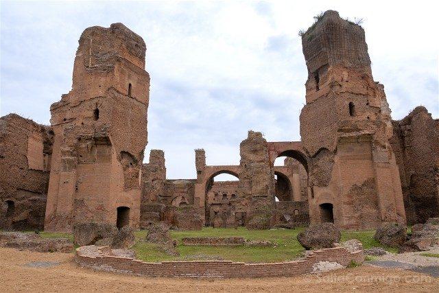 Que Ver en Roma Termas Caracalla