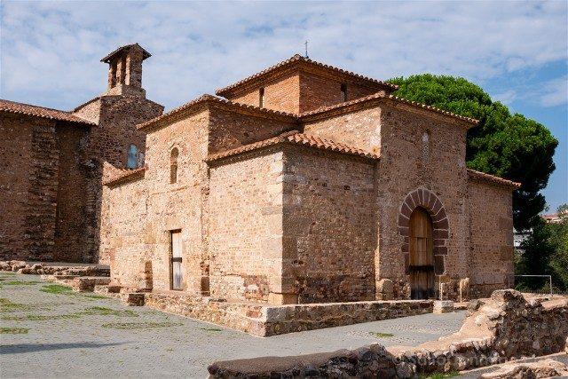 Que Ver en Terrassa Seu d'Egara Templo Funerario Sant Miquel Exterior