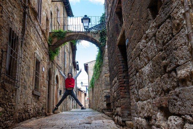 Que Ver en la Toscana Cole di Val D'Elsa Salto