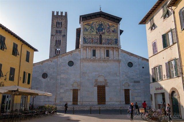 Que Ver en la Toscana Lucca Basilica San Frediano Exterior