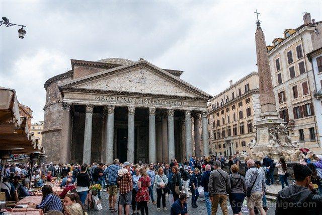 Panteon de Roma Exterior Fachada
