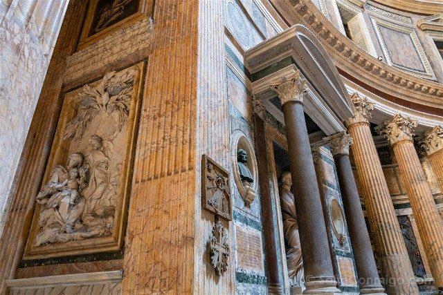 Panteon de Roma Interior Cilindro