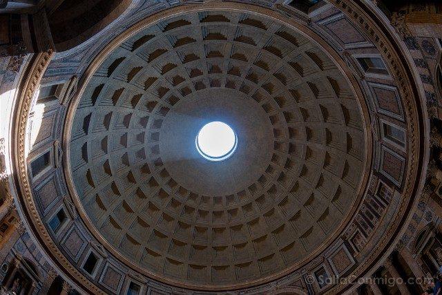Panteon de Roma Interior Cupula Nadir