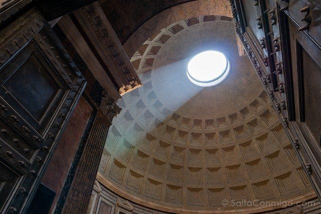 Panteon de Roma Interior Puerta Lado