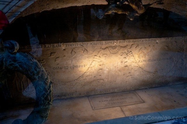 Panteon de Roma Interior Tumba Rafael