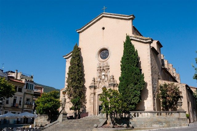 Que Ver en La Garriga Medieval Parroquia San Esteban