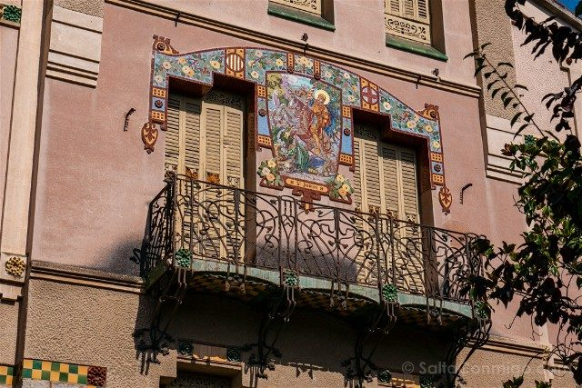 Que Ver en La Garriga Modernismo Illa Raspall Casa Barbey