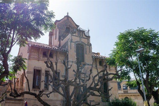 Que Ver en La Garriga Modernismo Illa Raspall Torre Iris