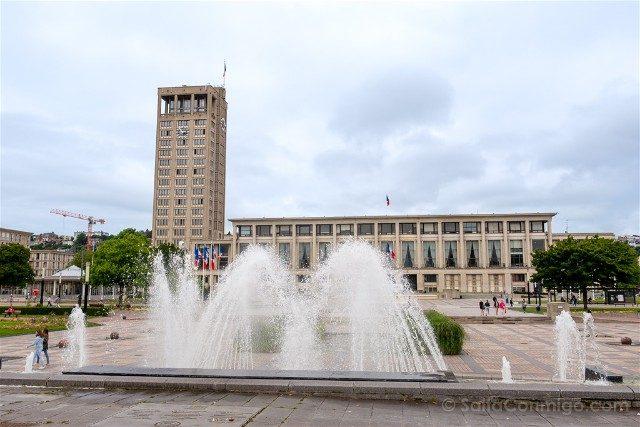 Que Ver en Le Havre Ayuntamiento Perret Plaza