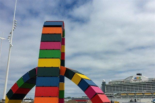 Que Ver en Le Havre Catene Containers Vincent Ganive