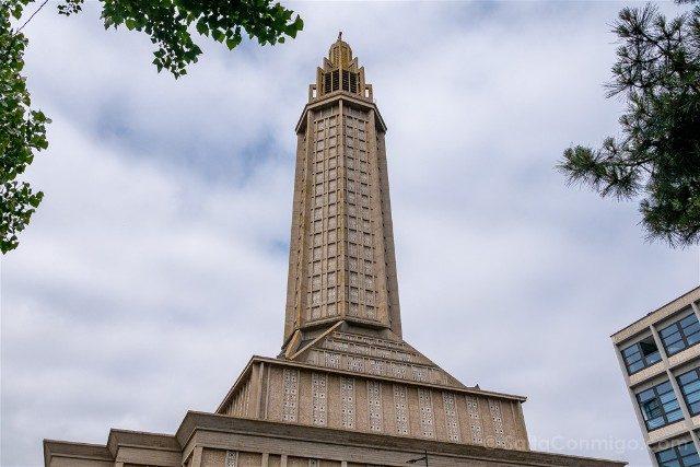 Que Ver en Le Havre Iglesia Saint-Joseph Perret Torre