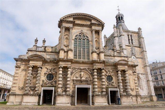 Que Ver en Le Havre Catedral Fachada