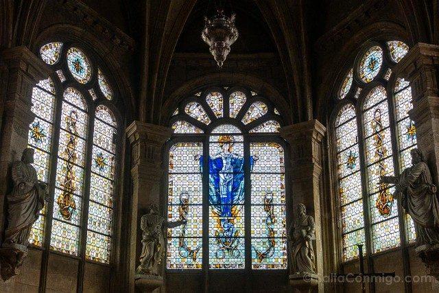 Que Ver en Le Havre Catedral Vidrieras