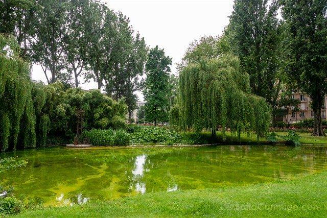 Que Ver en Le Havre Parque St. Roch Lago