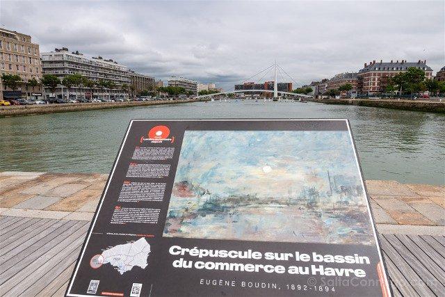 Que Ver en Le Havre Placa Boudin